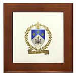 PICHE Family Crest Framed Tile