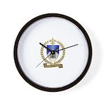 PICHE Family Crest Wall Clock