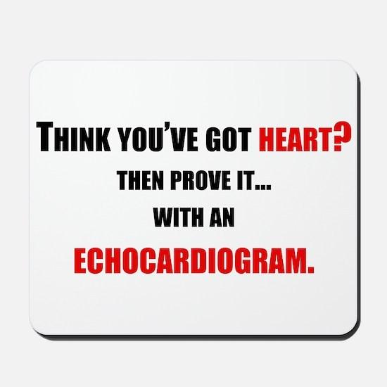 Echocardiogram Mousepad