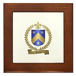 PILON Family Crest Framed Tile