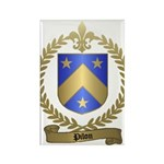 PILON Family Crest Rectangle Magnet