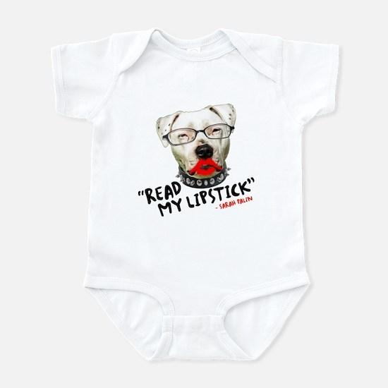 """Read my Lipstick"" - Infant Bodysuit"