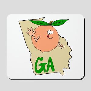 Georgia Pride! Mousepad
