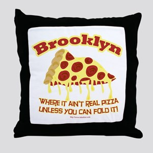 Brooklyn Style Throw Pillow
