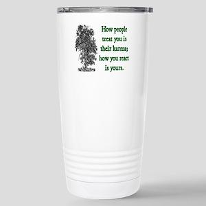 KARMA Stainless Steel Travel Mug