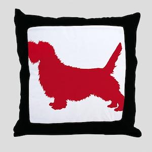 Petit Basset Griffon Vendeen Throw Pillow