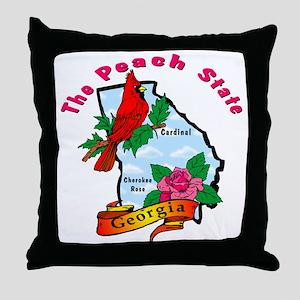 Georgia Pride! Throw Pillow