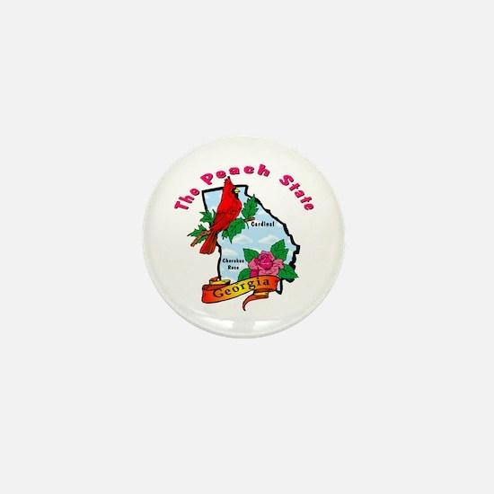 Georgia Pride! Mini Button