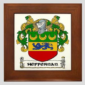 Heffernan Coat of Arms Framed Tile