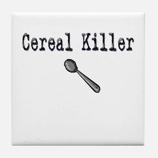 Buy Cereal Killer Funny shirt Tile Coaster
