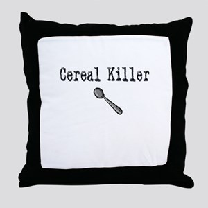 Buy Cereal Killer Funny shirt Throw Pillow