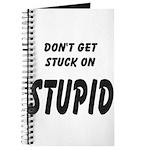 Stuck On Stupid<br> Journal