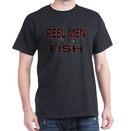 Reel Men Fish Dark T-Shirt