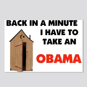 OBAMA'S MESSAGE Postcards (Package of 8)
