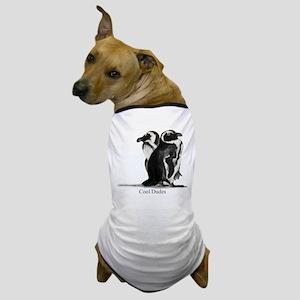 Cool Penguins Dog T-Shirt