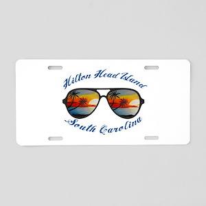 South Carolina - Hilton Hea Aluminum License Plate