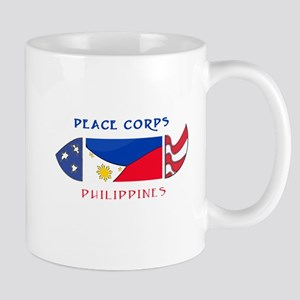 2-PHILIPPINES POCKET LOGO WHITE STROKE Mugs