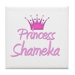 Princess Shameka Tile Coaster