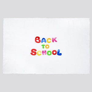 back to school 4' x 6' Rug