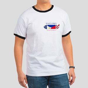 2-PHILIPPINES POCKET LOGO WHITE STROKE T-Shirt