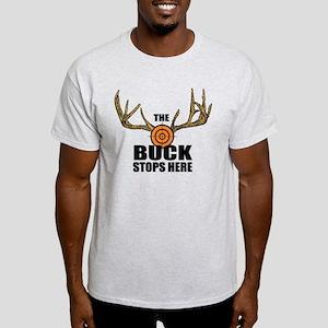 The Buck Stops Here Light T-Shirt