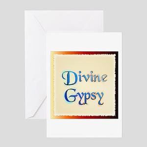 Divine Gypsy Greeting Card