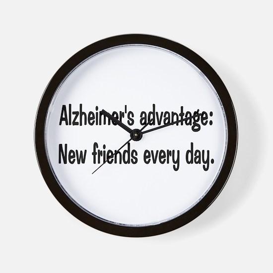 Alzheimer's advantage Wall Clock