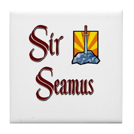 Sir Seamus Tile Coaster