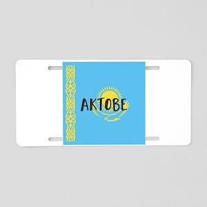 Aktobe Aluminum License Plate