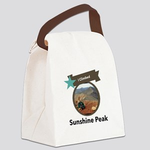 Sunshine Peak Canvas Lunch Bag