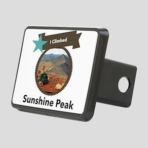 Sunshine Peak Rectangular Hitch Cover
