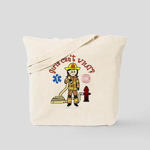 Custom Firefighter Tote Bag