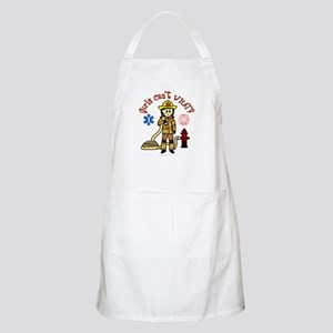 Custom Firefighter BBQ Apron
