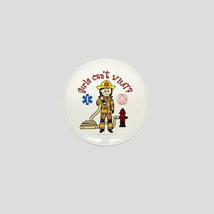 Custom Firefighter Mini Button