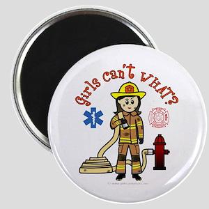 Custom Firefighter Magnet