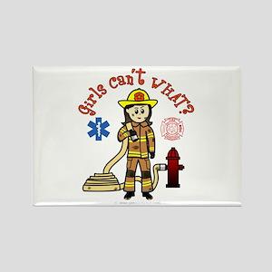 Custom Firefighter Rectangle Magnet