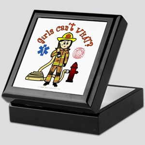 Custom Firefighter Keepsake Box