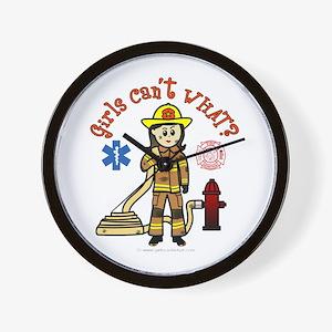 Custom Firefighter Wall Clock
