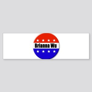 Brianna Wu Bumper Sticker