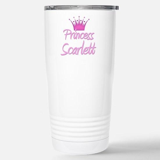 Princess Scarlett Stainless Steel Travel Mug