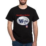"""""""Republican Market"""" Black T-Shirt"""