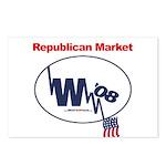 """""""Republican Market"""" Postcards (8)"""