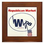 """""""Republican Market"""" Framed Tile"""