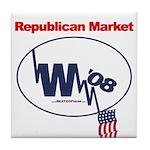 """""""Republican Market"""" Tile Coaster"""