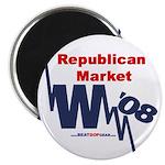 """""""Repub. Market"""" 2.25"""" Magnet (10)"""