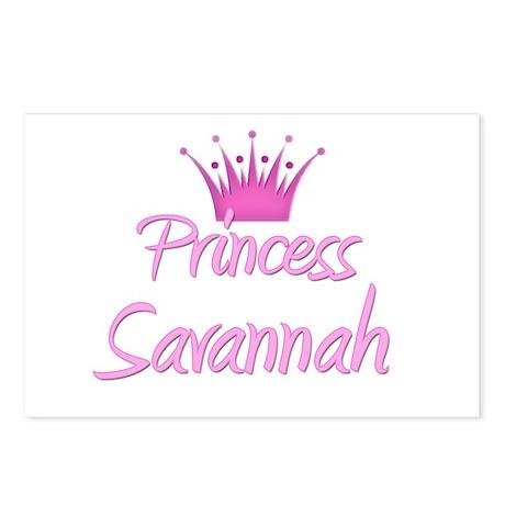 Princess Savannah Postcards (Package of 8)