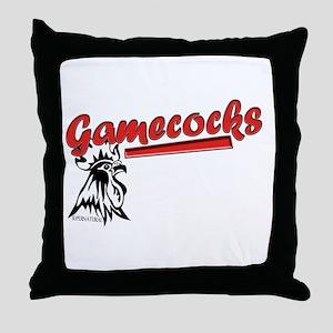 Team Gamecocks Throw Pillow