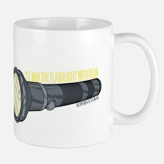 Man'in Dean's Flashlight Mug