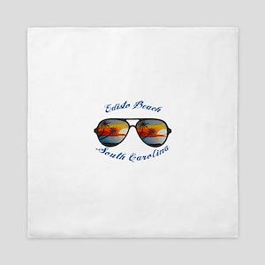 South Carolina - Edisto Beach Queen Duvet
