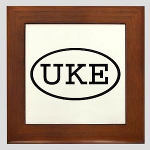 UKE Oval Framed Tile